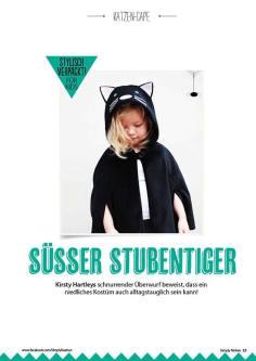 Nähanleitung: Katzen-Cape für Kinder – Simply Nähen 0415