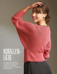 Häkelanleitung Koraller-Pullover Fantastische Häkel-Mode-Ideen 0515