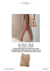 Refashion: Pullover mit Neon-Reißverschluss – Simply Nähen 0415