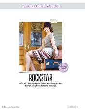 Rock mit Lace-Borten Fantastische Häkel-Mode-Ideen 0515