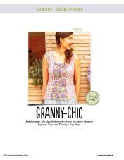 Häkelanleitung: Granny Square-Top – Fantastische Häkel-Mode-Ideen 03/2016