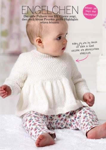 Strickanleitung Baby-Pullover – Simply Stricken 04/2016