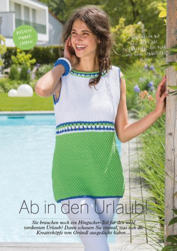 Strickanleitung Gruendl Long Tanktop Holiday – Simply Stricken 03/2016