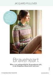 Strickanleitung Rowan Braveheart Sweater Simply Stricken 0616