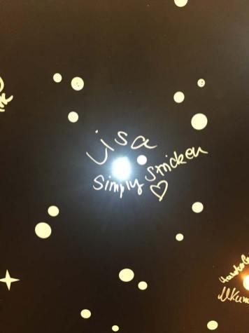 Bei addi durfte ich meinen eigenen kleinen Stern zum Leuchten bringen