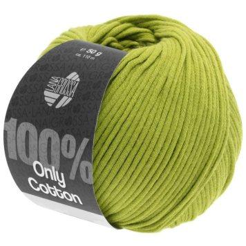 Lana Grossa Only Cotton Farbe Gelbgrün