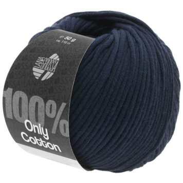 Lana Grossa Only Cotton Farbe Nachtblau