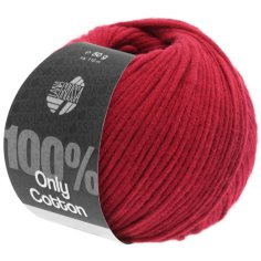 Lana Grossa Only Cotton Farbe Rot