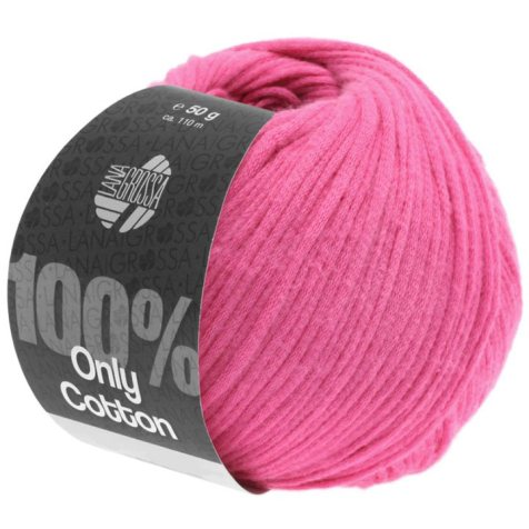 Lana Grossa Only Cotton Farbe Pink