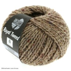 Lana Grossa, Royal Tweed, 59 Taupe