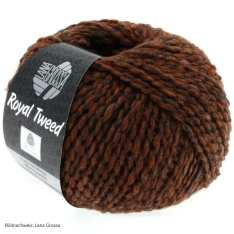 Lana Grossa, Royal Tweed, 78 Zimt meliert