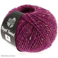 Lana Grossa, Royal Tweed, 79 Zyklam meliert