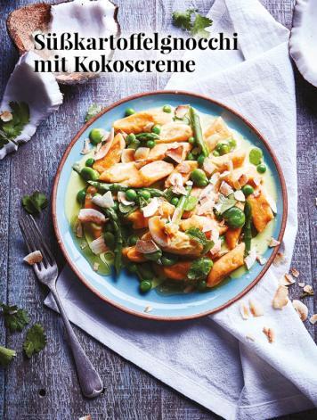 Simply kreativ - Süßkartoffelgnocchi mit Kokoscreme - Hüttenzauber Rezepte für den Thermomix - 0118