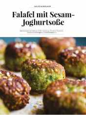 Simply kreativ - Falafel mit Sesam-Joghurtsoße - Hüttenzauber Rezepte für den Thermomix - 0118