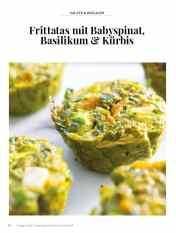 Simply kreativ - Frittatas mit Babyspinat, Basilikum und Kürbis - Hüttenzauber Rezepte für den Thermomix - 0118