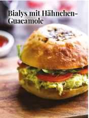 Simply kreativ - Bialys mit Hähnchen-Guacamole - Hüttenzauber Rezepte für den Thermomix - 0118