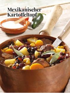 Simply kreativ - Mexikanischer Kartoffeltopf - Hüttenzauber Rezepte für den Thermomix - 0118