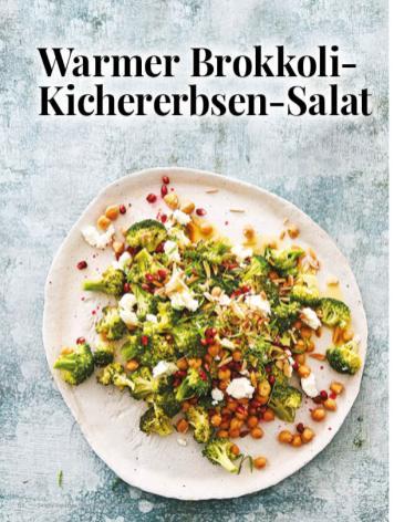 Simply kreativ - Warmer Brokkoli-Kichererbsen-Salat - Hüttenzauber Rezepte für den Thermomix - 0118
