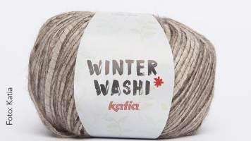 Katia Winter Washi Bändchengarn stricken