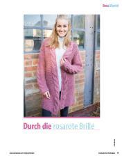 Strickanleitung - Durch die rosarote Brille - Fantastische Strickideen Sonderheft 01/2019