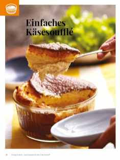 Simply kreativ - Käsesouffle - Neue Rezepte für den Thermomix - 0218