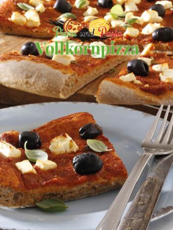 Simply kreativ - Vollkornpizza - Neue Rezepte für den Thermomix - 0218