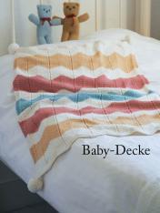 Strickanleitung - Baby-Decke - Simply Kreativ - Relax Stricken 02/2018