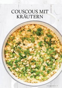 Gesund und fix - Kochen mit dem Thermomix - Couscous mit Kräutern 0218