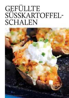 Gesund und fix - Kochen mit dem Thermomix - Gefüllte Süßkartoffel-Schalen 0218