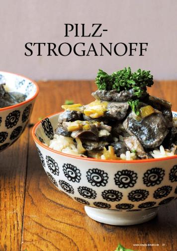 Gesund und fix - Kochen mit dem Thermomix - Pilz-Stroganoff 0218