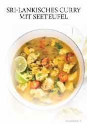 Gesund und fix - Kochen mit dem Thermomix - Sri-Lankisches Curry mit Seeteufel 0218