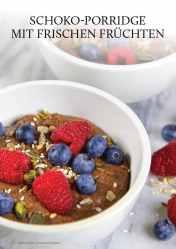 Gesund und fix - Kochen mit dem Thermomix - Schoko-Porridge mit frischen Früchten 0218
