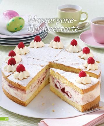 Simply Kochen - Mascarpone-Himbeertorte - Rezepte für den Thermomix - 0218