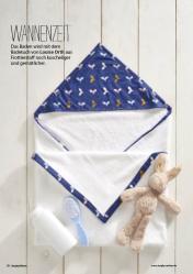 Nähanleitung - Baby-Handtuch - Simply Nähen - 0218