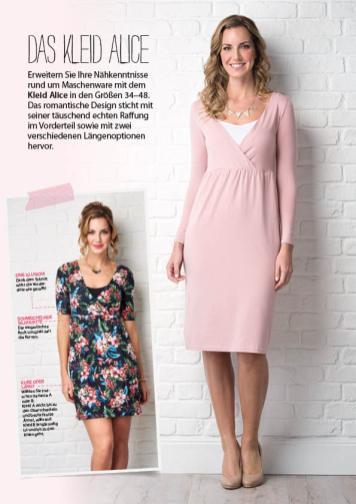 Nähanleitung - Kleid Alice - Simply Nähen - 0218