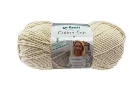 """Cotton Soft Uni, Farbe """"Beige"""" (06)"""