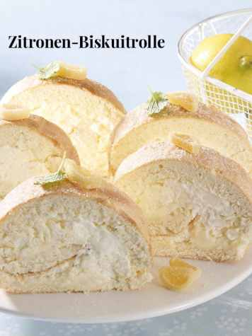 Rezept - Zitronen-Biskuitrolle - Simply kreativ Backen Thermomix - 0218
