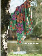 Häkelanleitung - Flower-Power - Simply Kreativ Häkel dir deine Regenbogendecke 02/2018