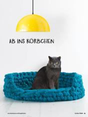 Häkelanleitung - Ab ins Körbchen - Simply Kreativ Jumbo Häkeln - 01/2018