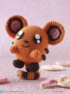 Häkelanleitung Boris Mini Monster Amigurumi Vol20