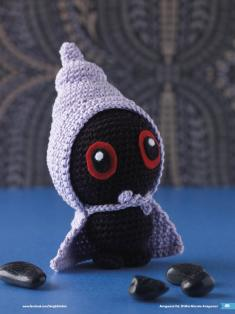 Häkelanleitung Cedrik Mini Monster Amigurumi Vol20
