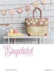 Häkelanleitung - Eingetütet - Shopper - Happy Häkeln 01/2018
