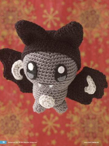 Häkelanleitung Igor Mini Monster Amigurumi Vol20
