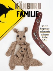 Häkelanleitung - Kängurufamilie - Fantastische Häkelideen - Amigurumi Vol. 21