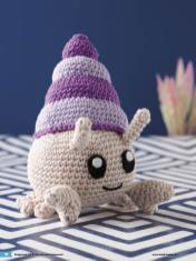 Häkelanleitung Karlotta Mini Monster Amigurumi Vol20