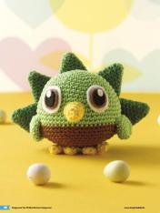 Häkelanleitung Kaspe Mini Monster Amigurumi Vol20