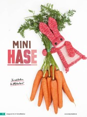 Häkelanleitung - Mini-Hase - Fantastische Häkelideen - Amigurumi Vol. 21