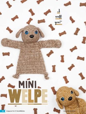 Häkelanleitung - Mini-Welpe - Fantastische Häkelideen - Amigurumi Vol. 21