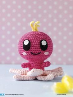 Häkelanleitung Rosalie Mini Monster Amigurumi Vol20