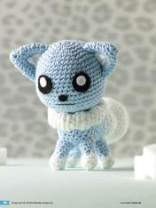 Häkelanleitung Smilla Mini Monster Amigurumi Vol20
